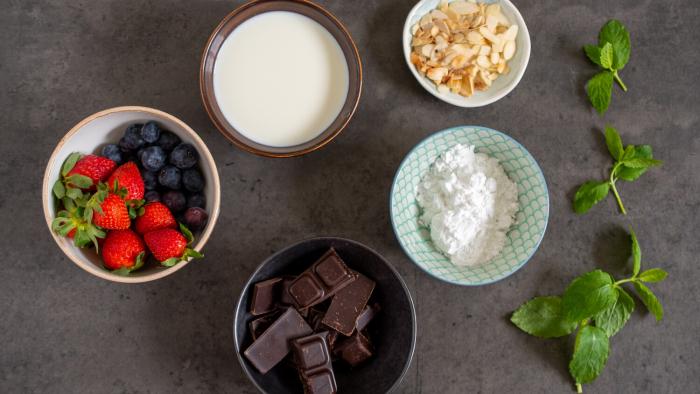 Zupa czekoladowa - krok 1