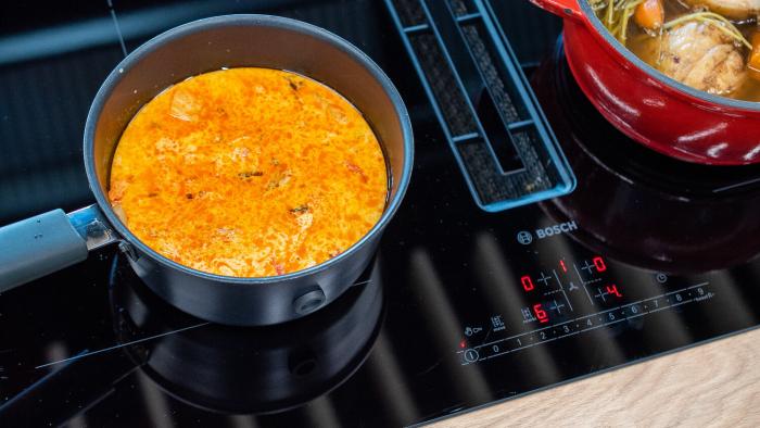 Czerwone curry z krewetkami - krok 2
