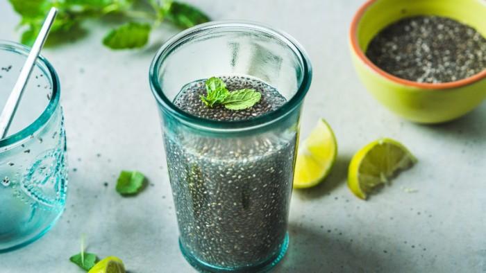 Energetyczny napój z nasionami chia - krok 3
