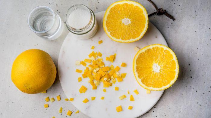 Dżem z pomarańczy - krok 1