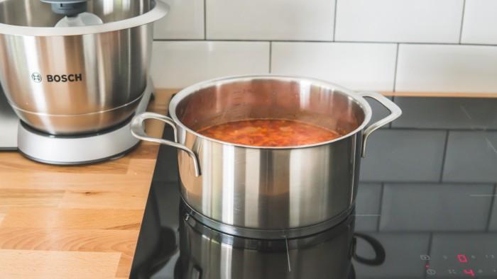Meksykańska zupa z kurczakiem - krok 3