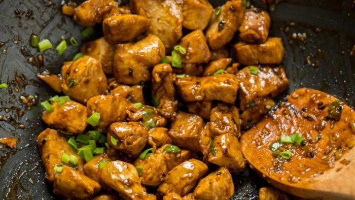 Kurczak po chińsku stir fry - krok 3
