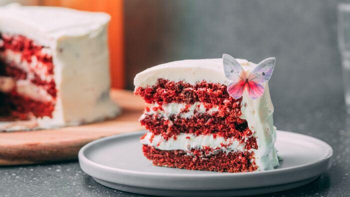 Tort Red Velvet Cake - krok 5