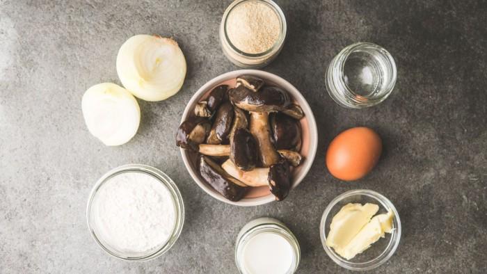 Wigilijne krokiety z grzybami - krok 1
