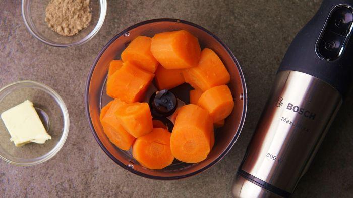 Puree z marchewki - krok 2