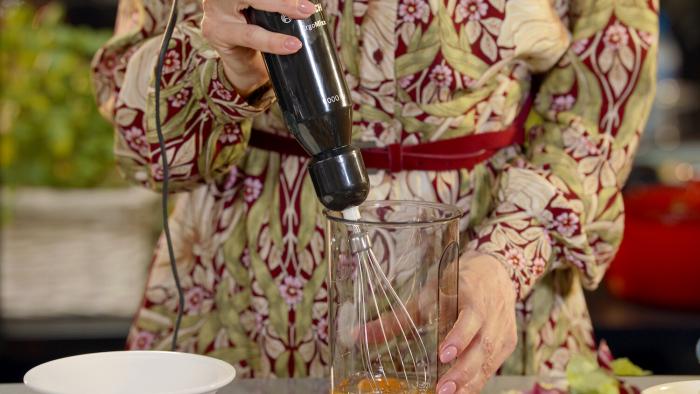 Omlet zero waste - krok 1