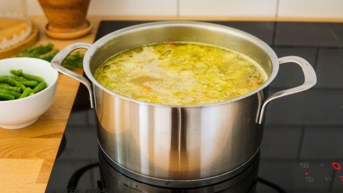 Zupa z kalarepy - krok 2
