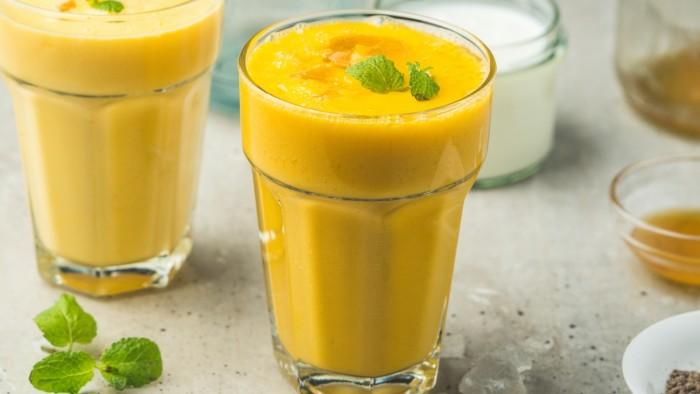 Mango lassi - krok 3