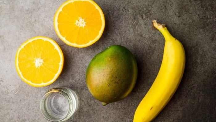 Smoothie z mango - krok 1