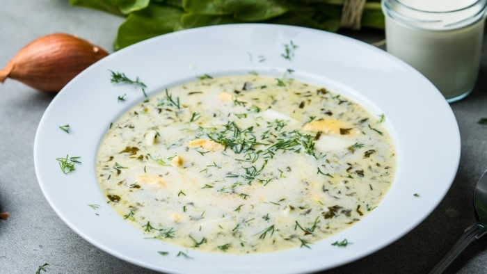 Zupa szczawiowa - krok 3