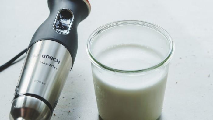 Mleko migdałowe - krok 2