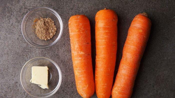 Puree z marchewki - krok 1