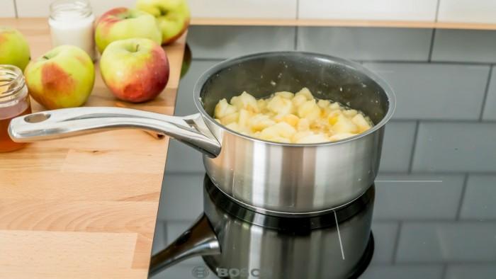 Mus jabłkowy - krok 2