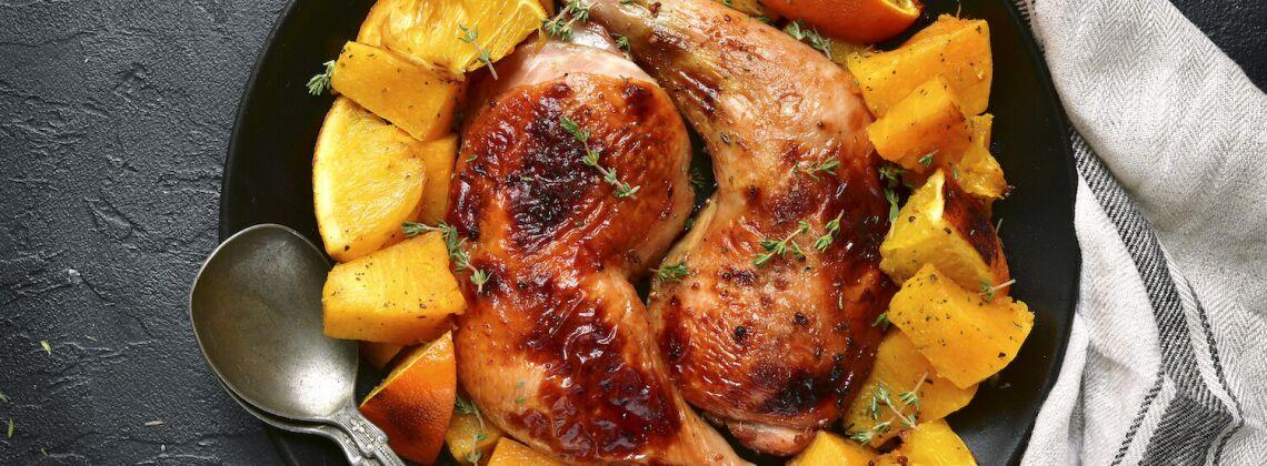 Kurczak z dynią
