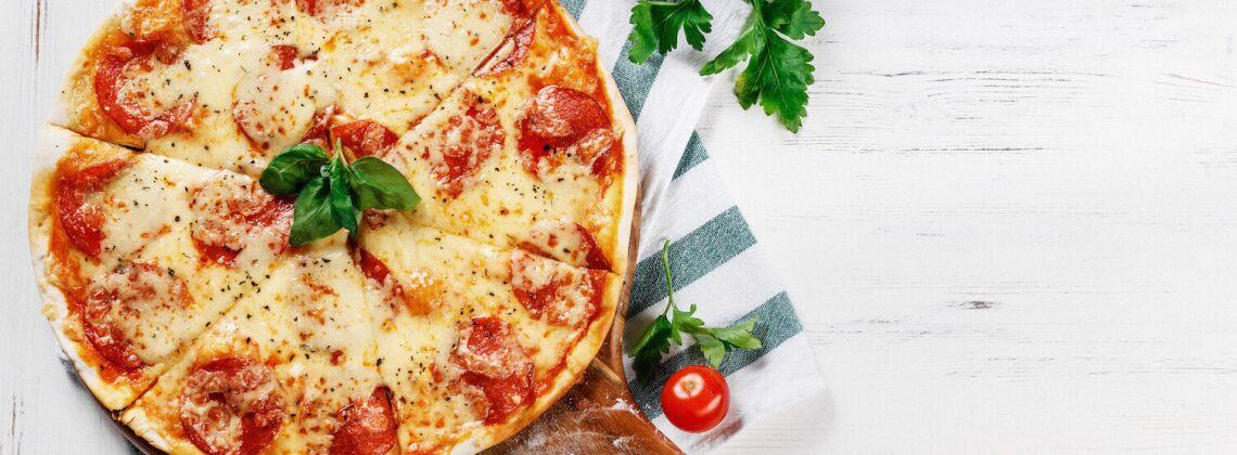Pizza bez drożdzy