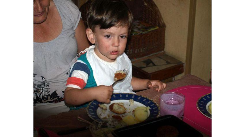 Szpinak, warzywa i ryba dla maluchów