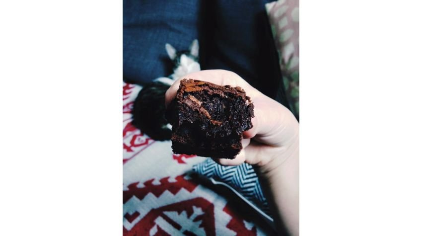 Mokre brownie = zakalec