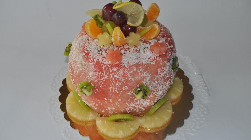 Mój sposób na bardzo zdrowy tort dla dzieci