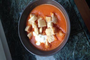 Przesolona zupa