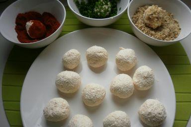 Aromatyczne kulki serowe