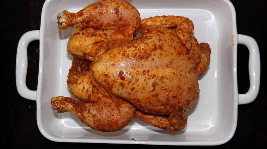 Pieczenie kurczaka