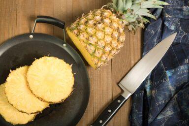 Jak obierać mango i ananasa?