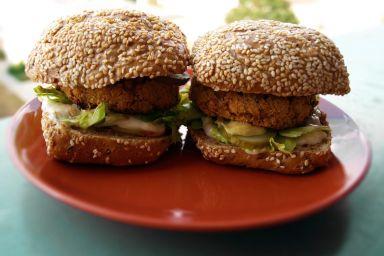 3 pomysły na wegetariańskiego burgera