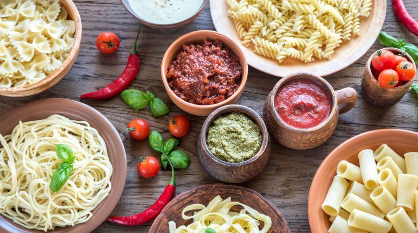Szybkie domowe sosy do makaronu