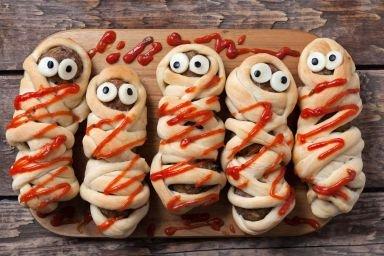 Przekąski dla dzieci na Halloween