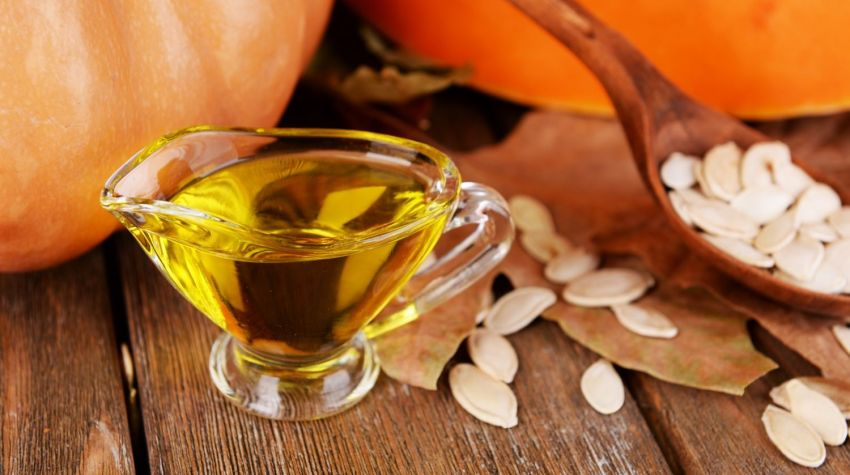 Przepis na olej z pestek dyni