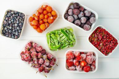 Jak mrozić warzywa i owoce?