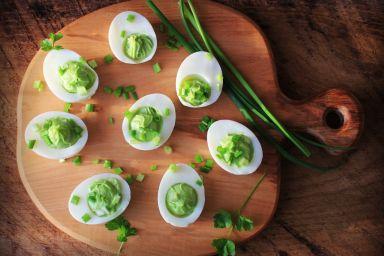 Czym faszerować jajka?