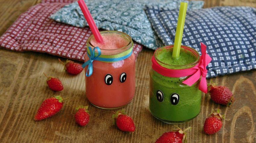 Koktajle warzywne dla dzieci