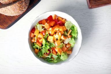 Jak pokroić warzywa i owoce w perfekcyjną kostkę?