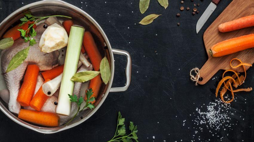 Jak przygotować bazę do sosów i zup?