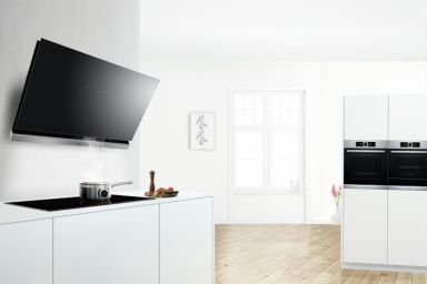 Co łączy płytę kuchenną z okapem? Home Connect!